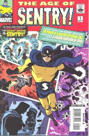Age Of Sentry #1 (2008) Marvel comic book